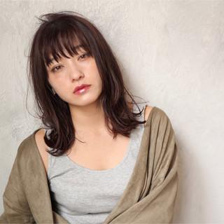 ウェーブ ヘアアレンジ 女子力 デート ヘアスタイルや髪型の写真・画像