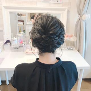 上品 エレガント 結婚式 ショートボブ ヘアスタイルや髪型の写真・画像