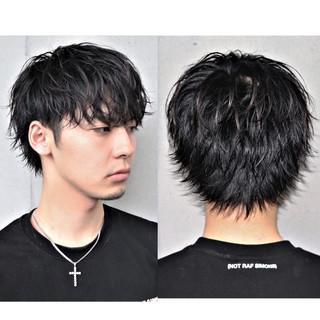 メンズショート メンズカット メンズパーマ メンズスタイル ヘアスタイルや髪型の写真・画像