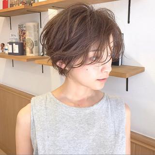 マッシュ 色気 大人女子 パーマ ヘアスタイルや髪型の写真・画像