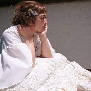 セミロング ナチュラル 涼しげ 大人女子 ヘアスタイルや髪型の写真・画像