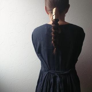 オシャレ 艶髪 モード ロング ヘアスタイルや髪型の写真・画像