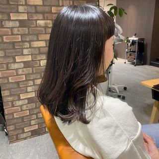N.オイル オン眉 ナチュラル 透明感 ヘアスタイルや髪型の写真・画像