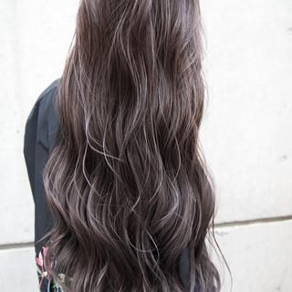 ガーリー ハイライト バレイヤージュ 外国人風カラー ヘアスタイルや髪型の写真・画像