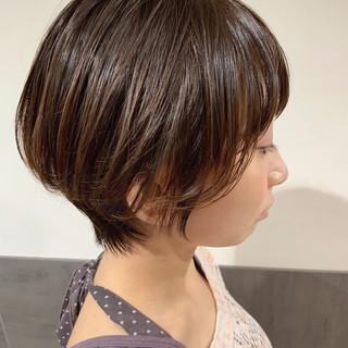 ベリーショート ショートヘア ショート フェミニン ヘアスタイルや髪型の写真・画像