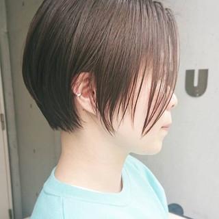 ショートヘア ベリーショート ショートカット ショートボブ ヘアスタイルや髪型の写真・画像