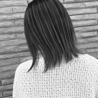 ストリート ミディアム バレイヤージュ 外国人風カラー ヘアスタイルや髪型の写真・画像