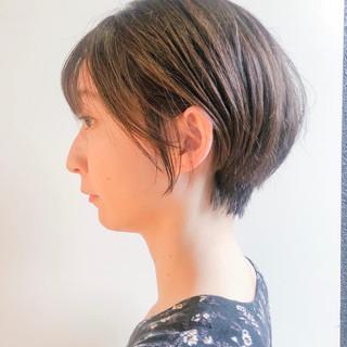 ショートアレンジ ハイライト ショートヘア ショートボブ ヘアスタイルや髪型の写真・画像