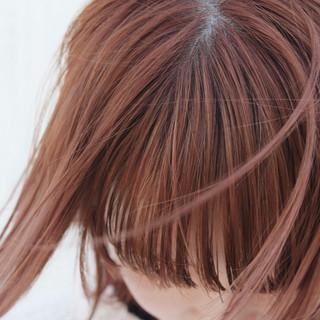 ピンクパープル ラベンダーピンク ナチュラル ピンクベージュ ヘアスタイルや髪型の写真・画像