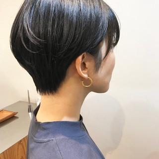ショート ゆるふわ オフィス ヘアアレンジ ヘアスタイルや髪型の写真・画像