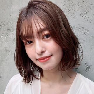 アンニュイほつれヘア 大人かわいい ヘアアレンジ デジタルパーマ ヘアスタイルや髪型の写真・画像