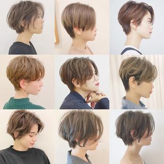 デート アウトドア モード パーマ ヘアスタイルや髪型の写真・画像