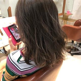 ヘアアレンジ ミディアム デート ミディアムヘアー ヘアスタイルや髪型の写真・画像