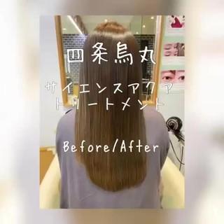 髪質改善 フェミニン モテ髪 艶髪 ヘアスタイルや髪型の写真・画像