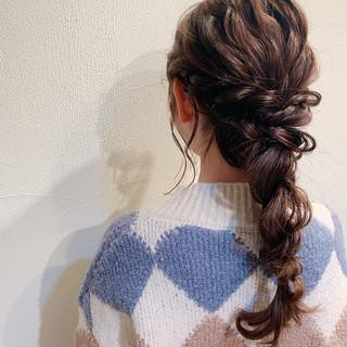 ロング お呼ばれ お呼ばれヘア ヘアアレンジ ヘアスタイルや髪型の写真・画像