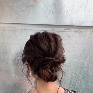 上品 ナチュラル 大人女子 ヘアアレンジ ヘアスタイルや髪型の写真・画像