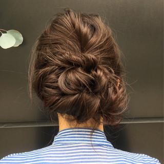 大人女子 セミロング ワイドバング ゆるふわ ヘアスタイルや髪型の写真・画像