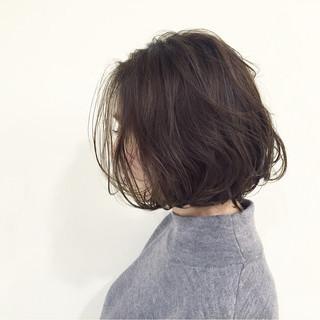ボブ グラデーションカラー 外国人風 ストリート ヘアスタイルや髪型の写真・画像