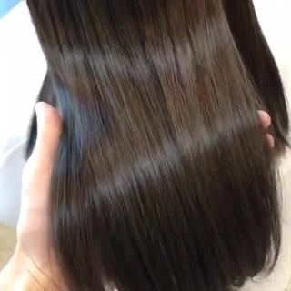 透明感 セミロング 外国人風カラー ヘアアレンジ ヘアスタイルや髪型の写真・画像