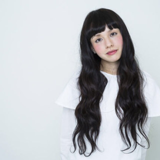 外国人風 大人かわいい デジタルパーマ パーマ ヘアスタイルや髪型の写真・画像