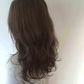 ロング 大人かわいい 外国人風カラー ナチュラル ヘアスタイルや髪型の写真・画像