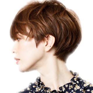 ショートヘア ショートボブ 小顔ショート 30代 ヘアスタイルや髪型の写真・画像