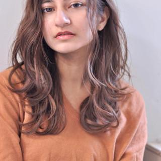 大人ロング 上品 ロング ウェーブ ヘアスタイルや髪型の写真・画像
