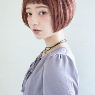 ボブ 大人女子 小顔 こなれ感 ヘアスタイルや髪型の写真・画像