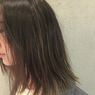 こなれ感 ヘアアレンジ ミディアム デート ヘアスタイルや髪型の写真・画像