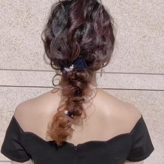 アウトドア 結婚式 ヘアアレンジ 成人式 ヘアスタイルや髪型の写真・画像