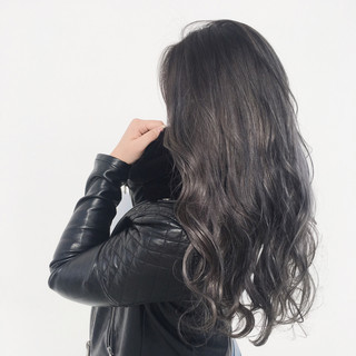 グラデーションカラー ストリート 外国人風カラー ロング ヘアスタイルや髪型の写真・画像