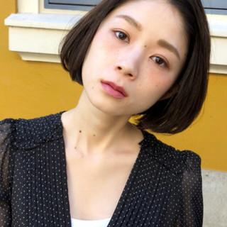 アンニュイほつれヘア モード デート パーマ ヘアスタイルや髪型の写真・画像