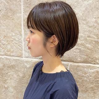ショート ミニボブ ショートヘア ショートボブ ヘアスタイルや髪型の写真・画像