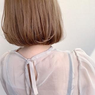 ボブ ショートヘア 透明感 ミニボブ ヘアスタイルや髪型の写真・画像