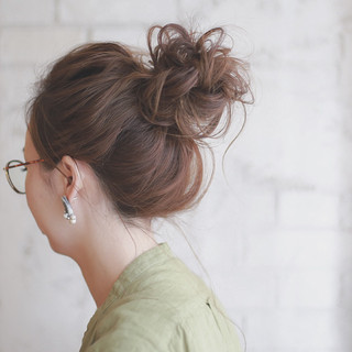 ヘアアレンジ 夏 ロング 簡単ヘアアレンジ ヘアスタイルや髪型の写真・画像