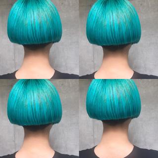アウトドア 秋 リラックス 透明感 ヘアスタイルや髪型の写真・画像