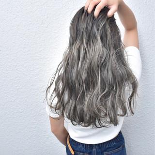 ロング グラデーションカラー 外国人風 外国人風カラー ヘアスタイルや髪型の写真・画像