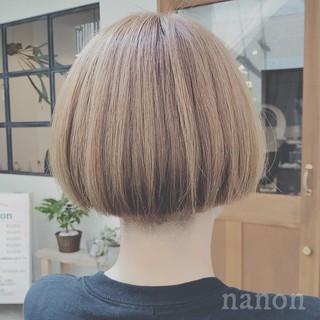 前髪あり ゆるふわ ショート デート ヘアスタイルや髪型の写真・画像