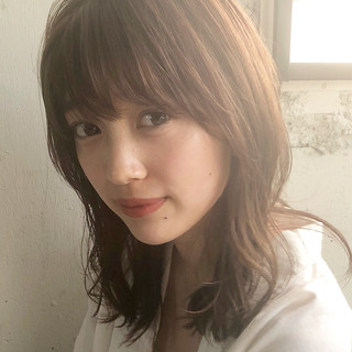 アンニュイほつれヘア デート 大人かわいい デジタルパーマ ヘアスタイルや髪型の写真・画像