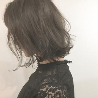 大人女子 ボブ ショート ナチュラル ヘアスタイルや髪型の写真・画像