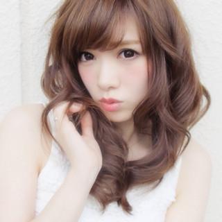 モテ髪 かわいい ガーリー 愛され ヘアスタイルや髪型の写真・画像