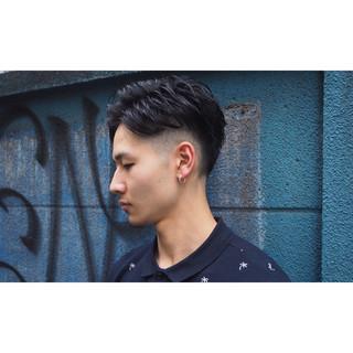 ストリート パーマ 坊主 刈り上げ ヘアスタイルや髪型の写真・画像
