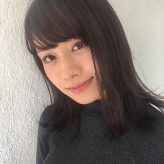ニュアンス 小顔 パーマ 大人女子 ヘアスタイルや髪型の写真・画像