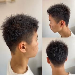 ショート メンズスタイル メンズ メンズカット ヘアスタイルや髪型の写真・画像