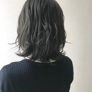 くびれボブ 大人ミディアム ミディアムレイヤー ミディアム ヘアスタイルや髪型の写真・画像