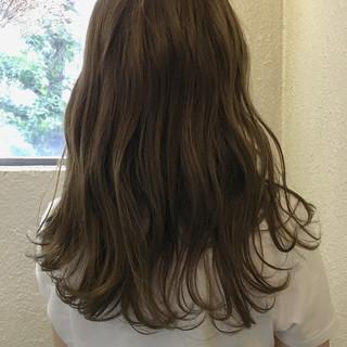 オフィス リラックス 涼しげ ヘアアレンジ ヘアスタイルや髪型の写真・画像
