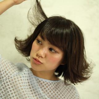 パーマ ショート 簡単ヘアアレンジ ストリート ヘアスタイルや髪型の写真・画像