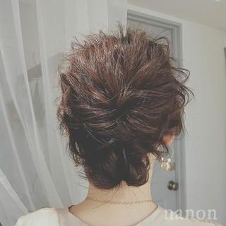 ミディアム エレガント 上品 大人かわいい ヘアスタイルや髪型の写真・画像
