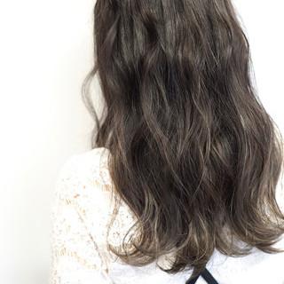 透明感 デート ナチュラル 秋 ヘアスタイルや髪型の写真・画像
