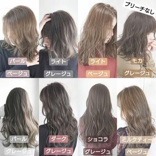 透明感 ナチュラル 透明感カラー ロング ヘアスタイルや髪型の写真・画像